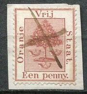 Orange Free State Mi# 1 Gestempelt/used - Heraldic Tree - Orange Free State (1868-1909)