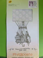 Philaposte - PAP International 250 G - Sabine - Ballons Montés - Phil@poste - Prêts-à-poster:Stamped On Demand & Semi-official Overprinting (1995-...)