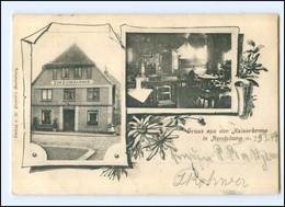 XX11313/ Rendsburg Kaiserkrone 1899 AK - Rendsburg