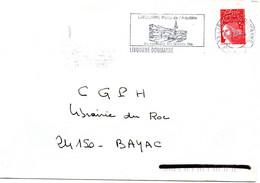 GIRONDE - Dépt N° 33 = LIBOURNE DOUMAYRE 2000 = FLAMME SECAP Illustrée  'CONFLUENT GRANDS VINS' + DELOL + GUEYROSSE - Maschinenstempel (Werbestempel)