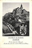 "Château De Namur - Style ""gravure"" Blason (peu Vue) - Namur"