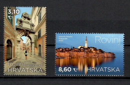 CROATIA 2020,TURISMUS,TURIZEM,TOWN ROVINJ, ,CHURCH,ARCHITECTURE,,SEE,,MNH - Kroatien