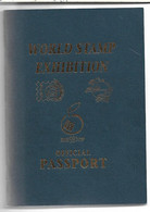 (C11) WORLD STAMP EXHIBITION - ISRAEL98 - OFFICIAL PASSPORT - Storia Postale