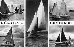 JMDDiv159Type De Voiliers Participant Aux RégatesCirculée1960 - Bretagne