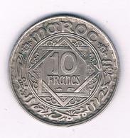 10 FRANCS 1366 AH  MAROKKO /8301/ - Marocco