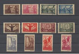 ROUMANIE .  YT  N° 854/865  Neuf *  1945 - 1918-1948 Ferdinand, Charles II & Michael