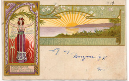 ESPOSIZIONE D' IGIENE - NAPOLI 1900 - Illustratore GANBARDELLA - VIAGGIATA - Ausstellungen