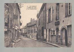 CPA - 87 - Le Dorat - Hôtel De Ville Et Grande-rue - Le Dorat