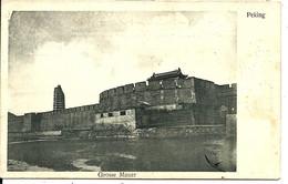 PEKING - Grosse Mauer - Carte Allemande (erlag Carl Wolff Tientsin 1905) - China