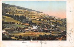 TAXENBACH SALZBURG AUSTRIA-PANORMA VIEW~1901 PURGER & COMPANY PHOTO POSTCARD 49542 - Otros