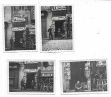 84-AVIGNON-Place Pie, Magasin Cycles W. Philibert à Côté Celui De A. De Winter...29.1.1938  (8 Photos 6x9) - Avignon