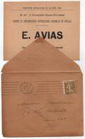 1936 SEMEUSE 1 C. BRUN OLIVE # 277A / SEUL SUR IMPRIME ELECTORAL - PARIS XX (ref 4428) - 1921-1960: Moderne