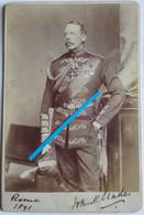 1891 Rome Arthur Slade Officier ? Ambassadeur ? Reine Victoria  Photographie Victorienne Alexander Bassano Photo - Oorlog, Militair