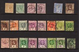 Ceylan  - Petit Lot D'obliteres - Ceylon (...-1947)