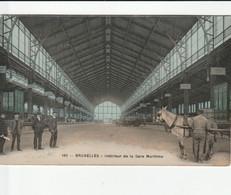 BRUXELLES INTERIEUR DE LA CARTE MARITIME - Schienenverkehr - Bahnhöfe
