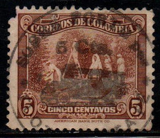 "A196E-COLOMBIA- 1934 - PRIVATE MAIL CARRIER - ""LA FLOTA SANTA FE""- - Colombia"