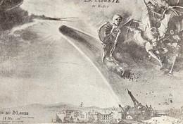 ~ La Comète De Halley - La Fin Du Monde , Illustration De Van Heer - Astronomie