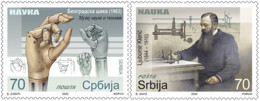 Serbia - 2020 - Science - Mint Stamp Set - Serbia