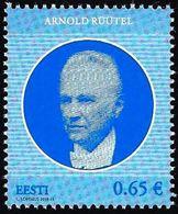 Estonia Estland Estonie 2018 (10) Former President Of Estonia - Arnold Rüütel - Estland
