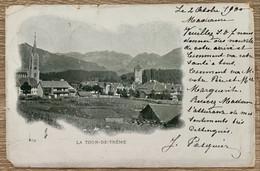 LA TOUR DE TRÊME - GRUYERE - Carte De 1900 - FR Freiburg