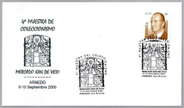 VIDRIERA - Virgen De Vico Se Aparece Al Kan - STAINES GLASS. Arnedo, La Rioja, 2006 - Vetri & Vetrate
