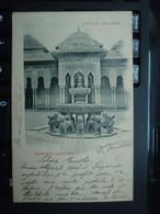 Cpa GRANADA (ALHAMBRA) Patio De Los Léones. Carte Précurseur - Granada