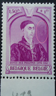 N°578 V19 Tuyau à Droite Du Visage  Mnh** - Abarten (Katalog Luppi)