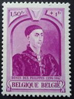 N°578 V21 Point Rouge Au Dessus Du +  Mnh** - Abarten (Katalog Luppi)