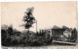 Tubize - Vue Sur La Filature Dehase Et Château Taymans - Tubize