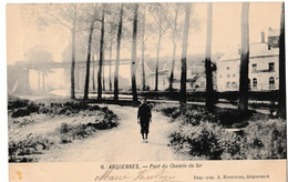 Arquennes - Pont Du Chemin De Fer - Seneffe