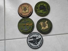 PATCHS   COMMANDO MARINE (prix Pour 1 Patch ) - Militaria