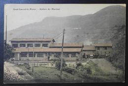 CPA - ST LAURENT LE MINIER (30) - Atelier Du Martinet - Otros Municipios