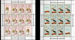 2015 Northern Cyprus (Turkish Cyprus) Europa CEPT Old Toys Sheetlets Set MNH** MiNr. 810 - 811 - 2015