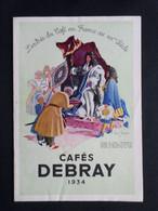 CAFES DEBRAY   : CATALOGUE 1927 - 1900 – 1949