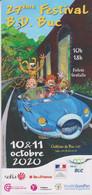 Programme YOANN Festival BD Buc 2020 (Spirou Et Fantasio - Otros