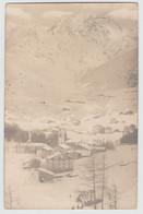 MADESIMO SONDRIO PANORAMA CON NEVE F/P VIAGGIATA 1916 - Other Cities