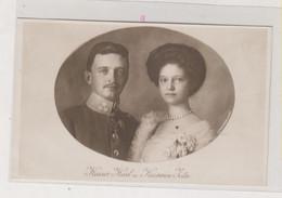 AUSTRIA Royal Family  KAISER KARL KAISERIN ZITA Nice Postcard - Royal Families