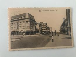 Carte Postale Ancienne Saint-Idesbald  Avenue De La Mer - Koksijde
