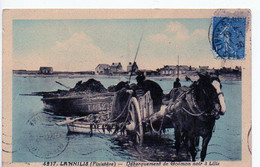 LANNILIS (Finistère) - Débarquement De Goémon Noir à Lilia - Sonstige Gemeinden