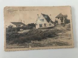 """Carte Postale Ancienne Saint-Idesbald  Villas """"La Chapelle"""" Et """"Les Buissonets"""" - Koksijde"""
