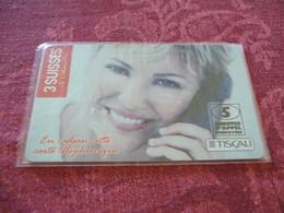 PRE PAYEE  TISCALI  /   3 SUISES   / NEUVE SOUS BLISTER /  LUXE - Prepaid-Telefonkarten: Andere
