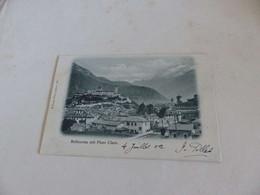 1260 - CPA, SUISSE , Bellinzona Mit Pizzo Claro - TI Ticino