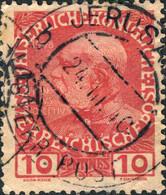 "LEVANT AUTRICHIEN / AUSTRIAN LEVANT - 1910 - ""JERUSALEM"" DS On KRETA Mi.18 10c. - Eastern Austria"
