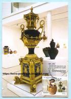 PORTUGAL - CENTENNARY MUSEUMS BORDALO PINHEIRO LISBOA HISTORY MAXIMUM CARD - Maximumkaarten