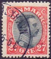 Denemarken 1913-25 27öre Christian X GB-USED - Usati