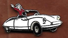 @@ Citroën DS Décapotable Blanche Démons Et Merveilles EGF (1.8x3.5) @@aut06a - Citroën