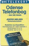 Denmark - Tele Danmark (Magnetic) - Odense Telefonbog - J.Nielsen - TDP066E - 5Kr, 07.1996, 600ex, Used - Dänemark