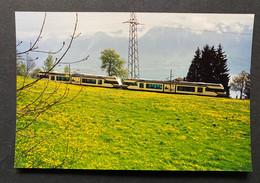 Neuer MOB Triebwagen (1990er Jahre) Foto - Eisenbahnen