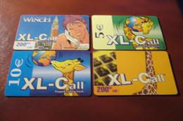 PRE PAYEE  X 4    /    XL CALL / - Prepaid-Telefonkarten: Andere