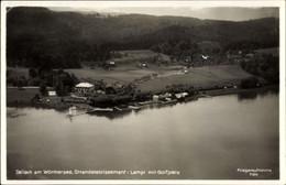 CPA Dellach Am Wörthersee In Kärnten, Blick Auf Das Strandetablissement Lampl Mit Golfplatz - Autres